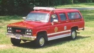 In 1989  the Company purchased a Chevrolet Suburban  to use as Light